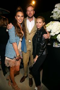 Elizabeth Chambers, Armie Hammer and Teresa Palmer Chanel Dinner hosted by Pharrell Williams, Los Angeles, USA - 06 Apr 2017