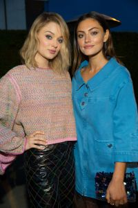 Bella Heathcote and Phoebe Tonkin Chanel Dinner hosted by Pharrell Williams, Los Angeles, USA - 06 Apr 2017