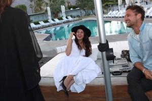 Shiva Rose Rosetta Getty x Doug Aitken Desert Dinner at SO.PA, Coachella Valley Music and Arts Festival, Palm Springs, USA - 14 Apr 2017