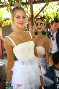 Chiara Ferragni and Jamie Chung Levi's hosted brunch, Coachella Valley Music and Arts Festival, Palm Springs, USA - 15 Apr 2017