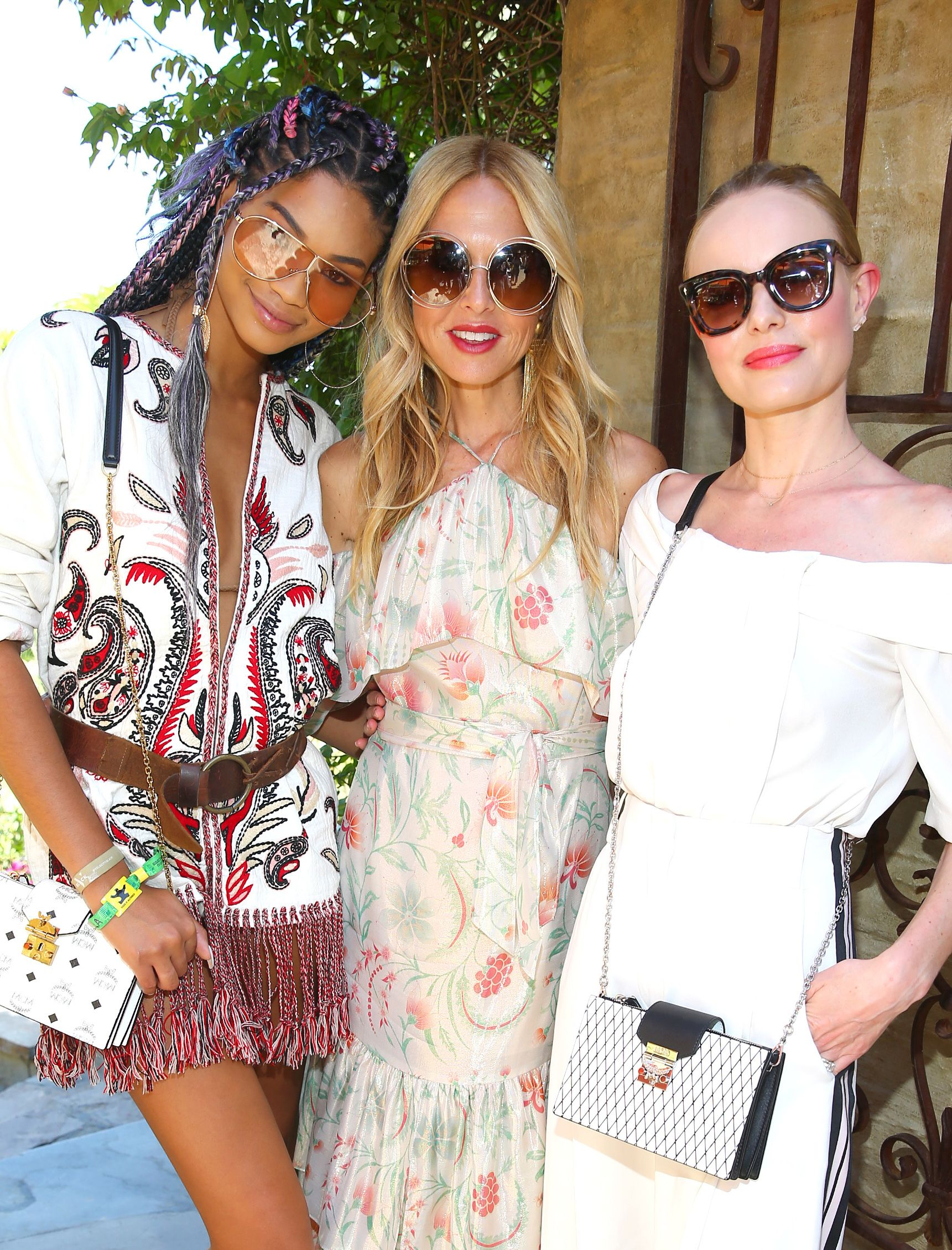 Chanel Iman, Rachel Zoe and Kate Bosworth Rachel ZOEasis, Coachella Valley Music and Arts Festival, Palm Springs, USA - 15 Apr 2017