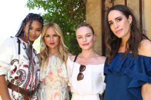 Chanel Iman, Rachel Zoe, Kate Bosworth and Louise RoeRachel ZOEasis, Coachella Valley Music and Arts Festival, Palm Springs, USA - 15 Apr 2017