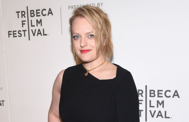 Elisabeth Moss'The Handmaid's Tale' TV Show screening, Arrivals, Tribeca Film Festival, New York, USA - 21 Apr 2017