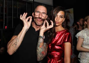 Chris McMillan and Emily Ratajkowski Marie Claire Celebrates 'Fresh Faces' with an Event Sponsored by Maybelline, Inside, Los Angeles, USA - 21 Apr 2017