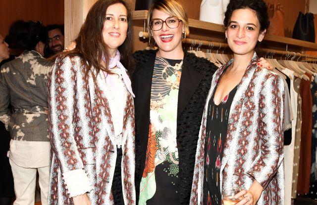 Clare Vivier, Jen Mankins, Jenny SlateBird Brooklyn Store Opening, Los Angeles, USA - 27 Apr 2017