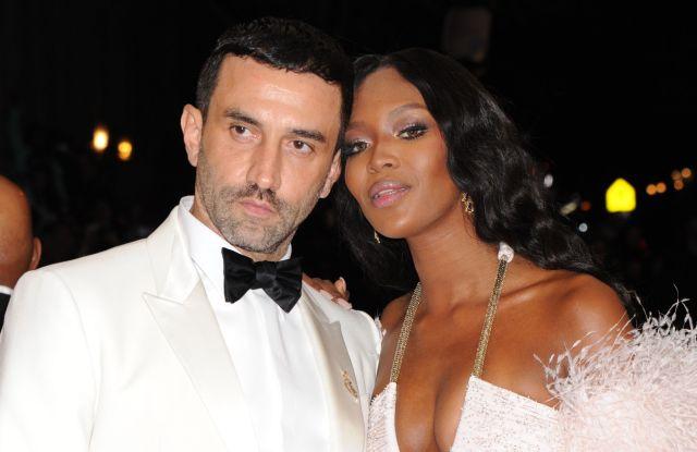 Riccardo Tisci and Naomi CampbellCostume Institute Gala Benefit celebrating Charles James: Beyond Fashion, Metropolitan Museum of Art, New York, America - 05 May 2014