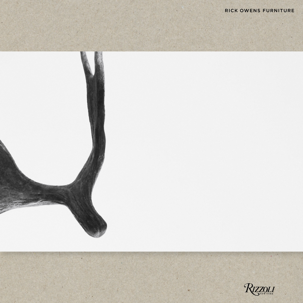 """The """"Rick Owens: Furniture"""" book published by Rizzoli New York"""