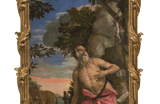 A painting of Saint Jerome by Paolo Veronese