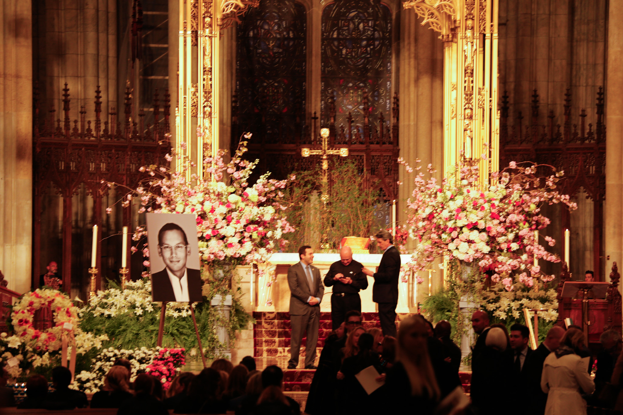The Santiago Barberi Gonzalez memorial service.