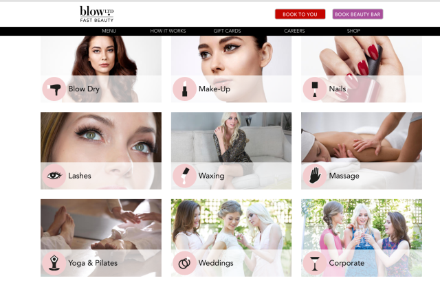 blow ltd beauty services