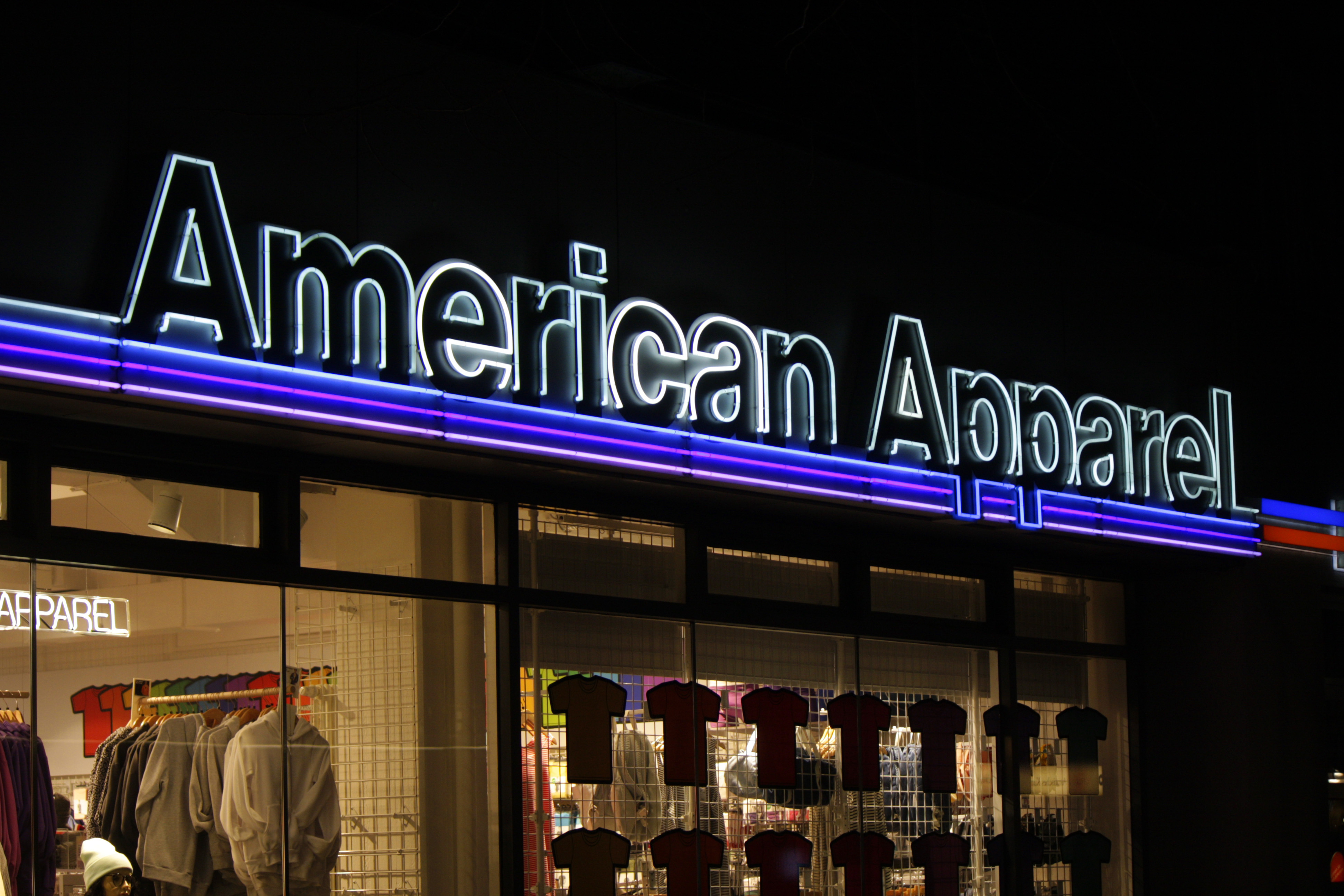 Gildan bought American Apparel's assets through a bankruptcy auction.