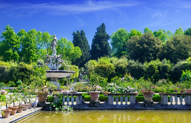 Gucci is providing funds to help restore Florence's Boboli Gardens.
