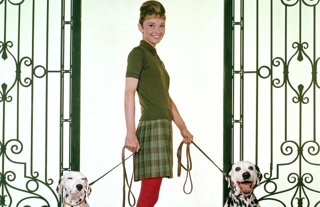 Audrey Hepburn in 1961.
