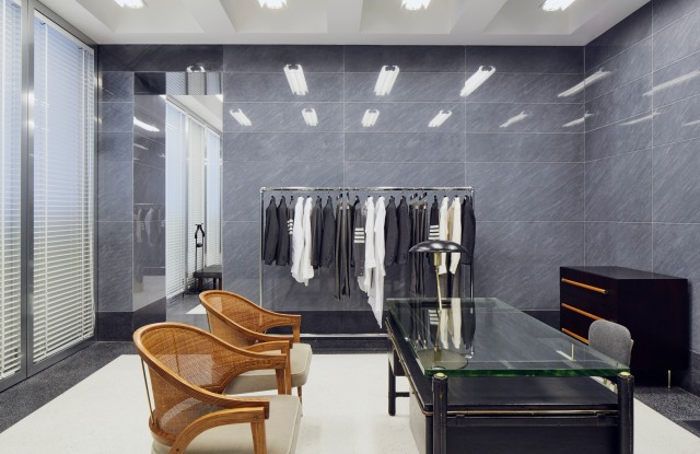 The Thom Browne flagship in Milan