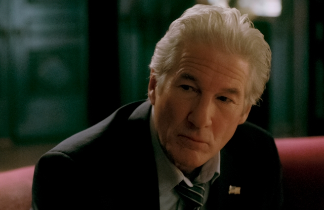 """A scene from """"The Dinner"""" with Richard Gere."""
