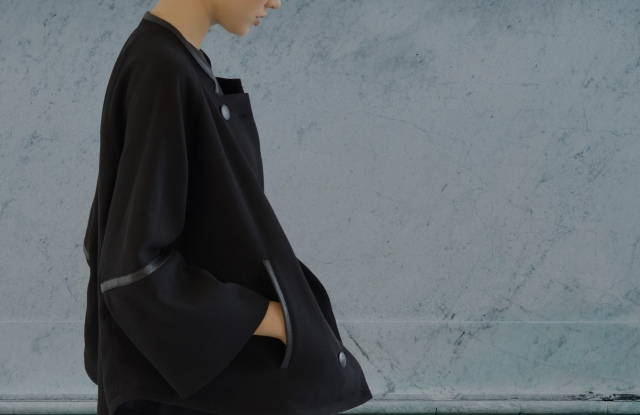 The Gemma coat from Lyn Paolo's capsule collection on Cala.