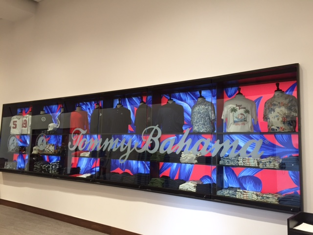 Tommy Bahama's Atlanta Braves shop.