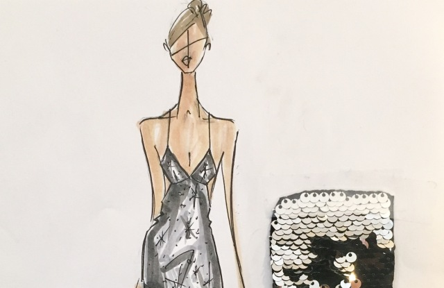 One of Michelle Smith's sketches for New York City Ballet soloist Unity Phelan.