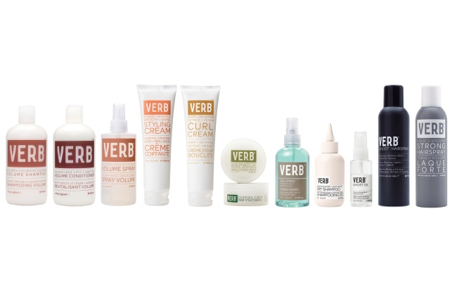 Verb hair products