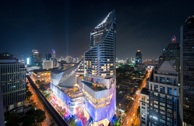 The Central Embassy mall in Bangkok, the flagship property of Central Group.