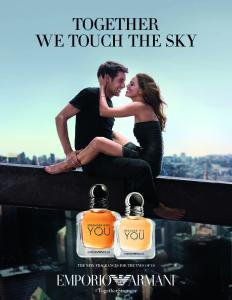 A still ad for the new scent duo.