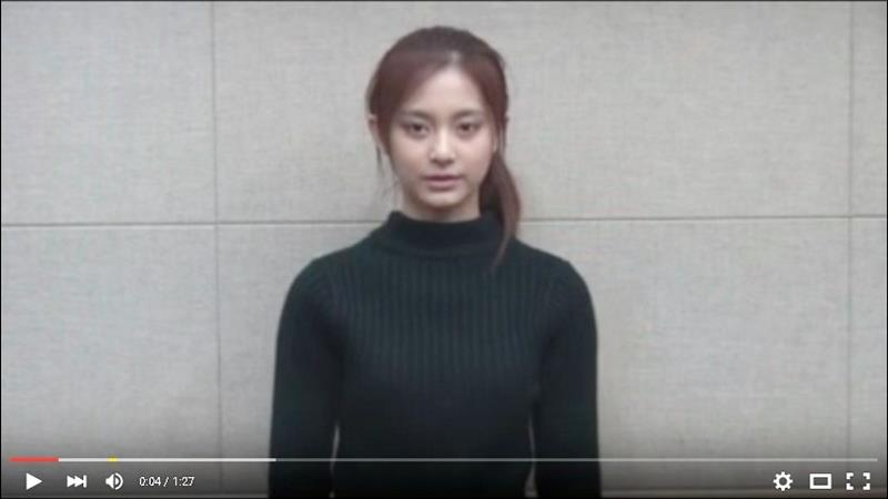 Taiwanese pop star Chou Tzuyu issued a video apology for waving the Republic of Taiwan flag on television.