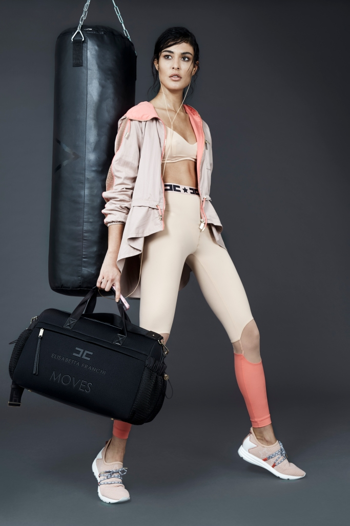 Elisabetta Franchi activewear capsule.