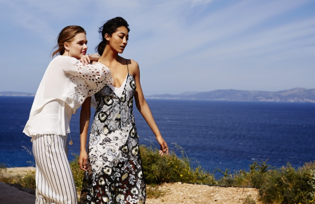 Looks from The Outnet's Summer Shop.