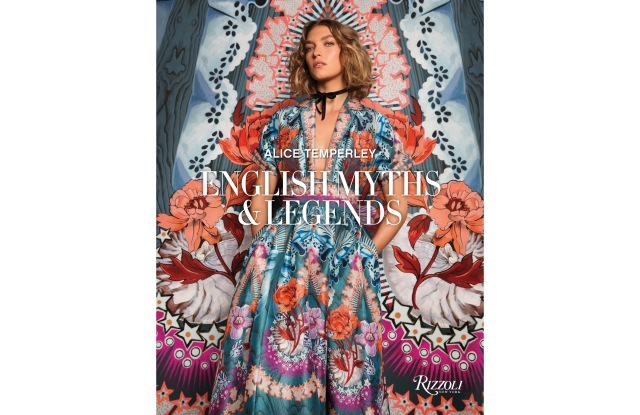 """The cover of """"Alice Temperley: English Myths and Legends"""""""
