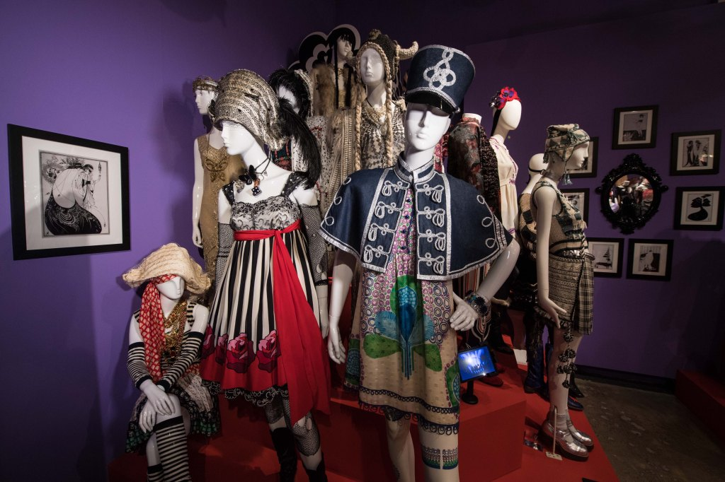 The Anna Sui exhibit in London