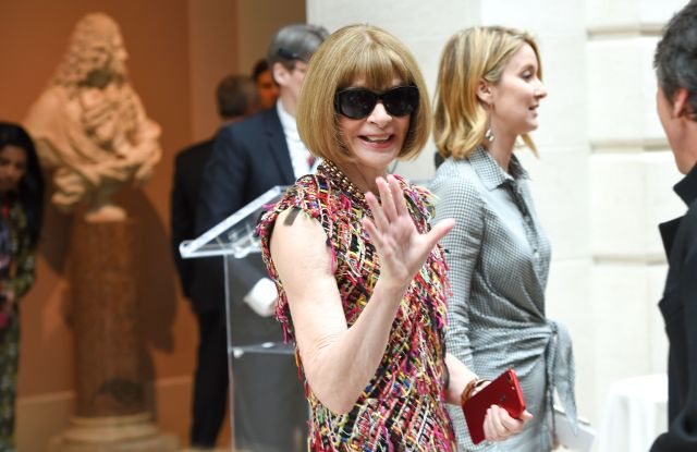 Anna WintourThe Costume Institute exhibition press preview, New York, USA - 01 May 2017