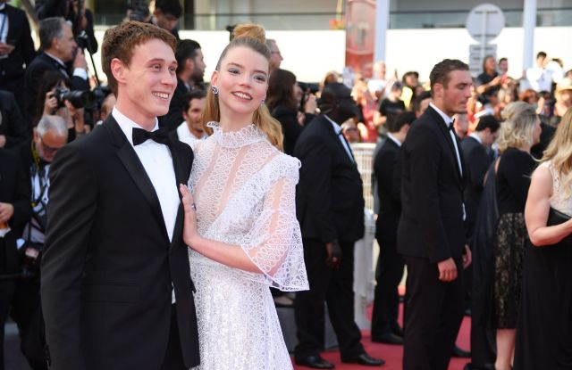 George MacKay and Anya Taylor-Joy'The Meyerowitz Stories' premiere, 70th Cannes Film Festival, France - 21 May 2017