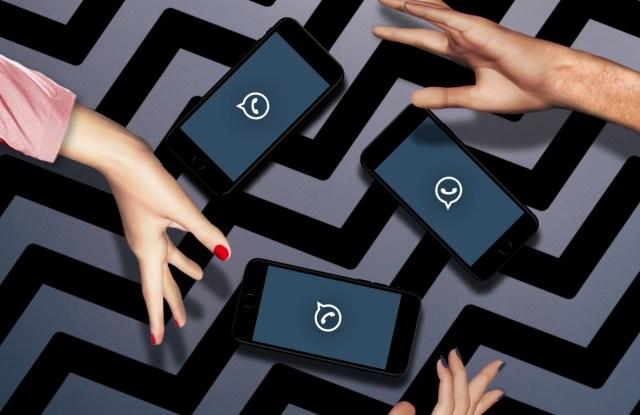 Agent Provocateur's Menage a Trois Whatsapp campaign