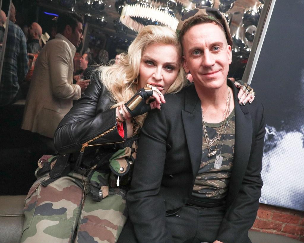 Madonna, Jeremy Scott
