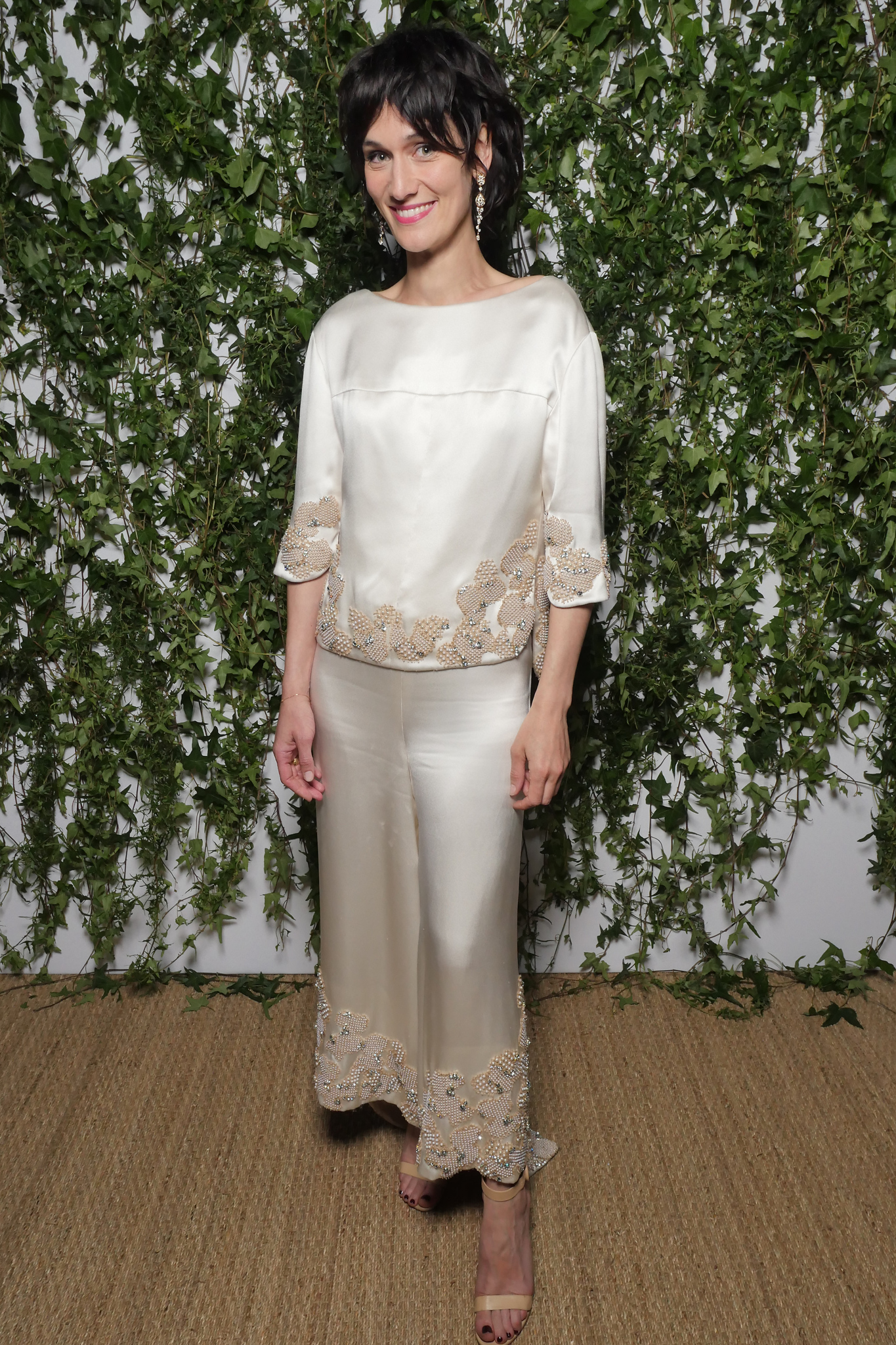 Clotilde Hesme at the Vanity Fair France and Chanel Dinner in Cannes