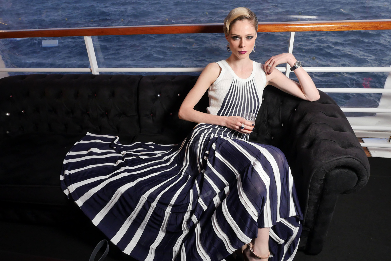 Coco Rocha Exclusive photos of the Charles Finch Filmmakers Party at Cannes
