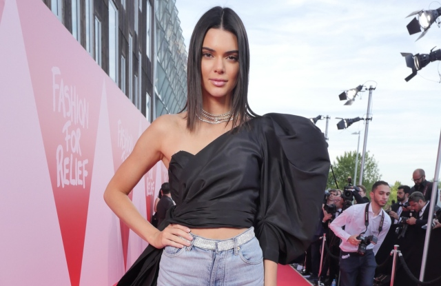 Kendall Jenner at the Fashion for Relief event in Cannes