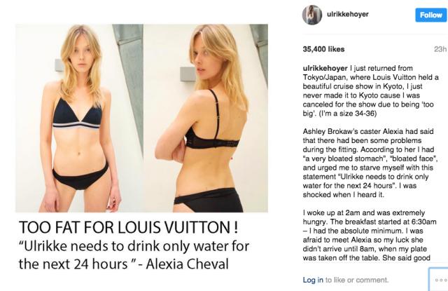 Ulrikke Høyer's Instagram post
