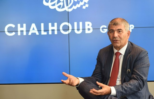 Patrick Chalhoub, co-chief executive officer of the Chalhoub Group.