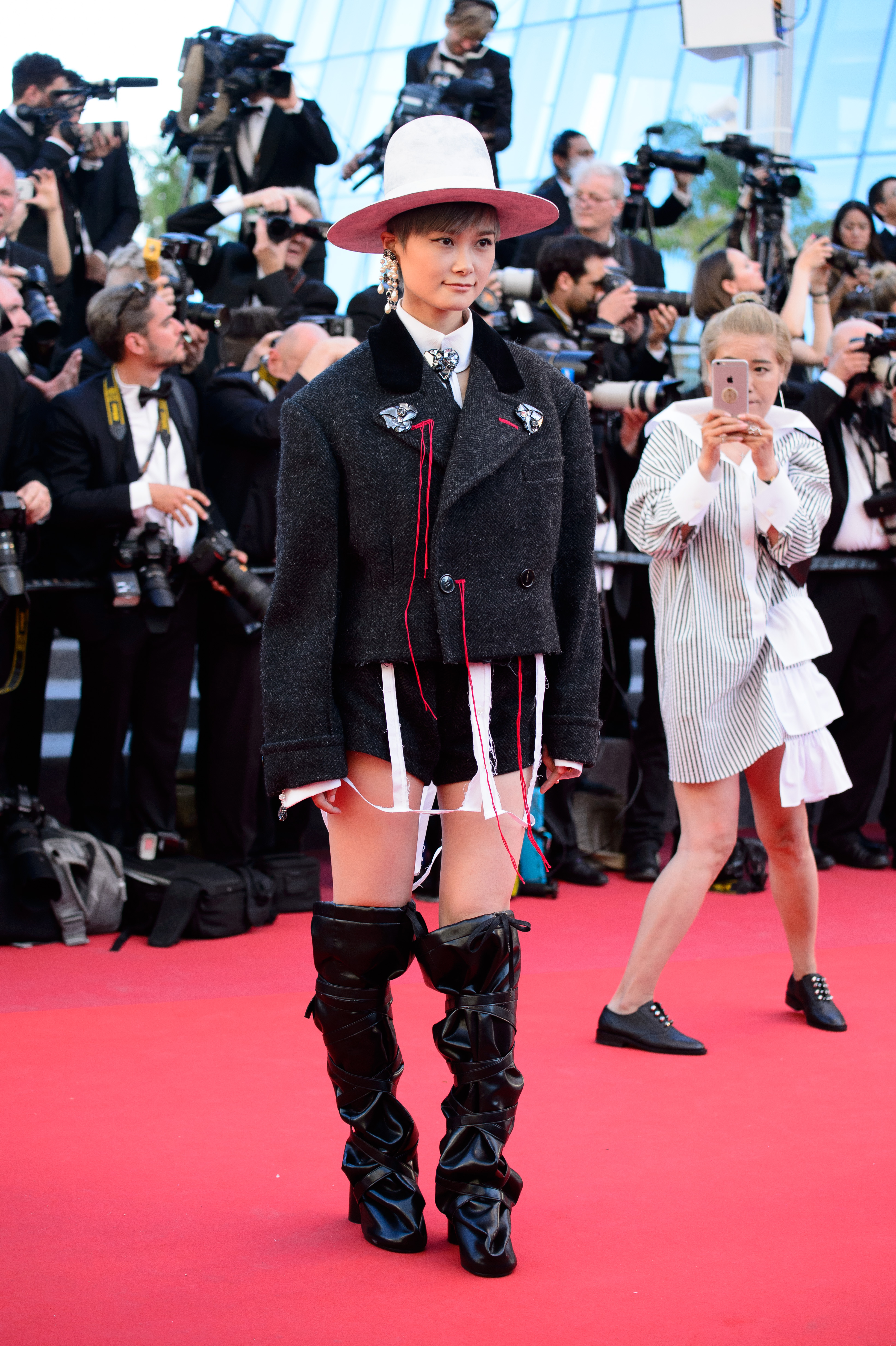Li Yuchun'Ismael's Ghosts' premiere and opening ceremony, 70th Cannes Film Festival, France - 17 May 2017