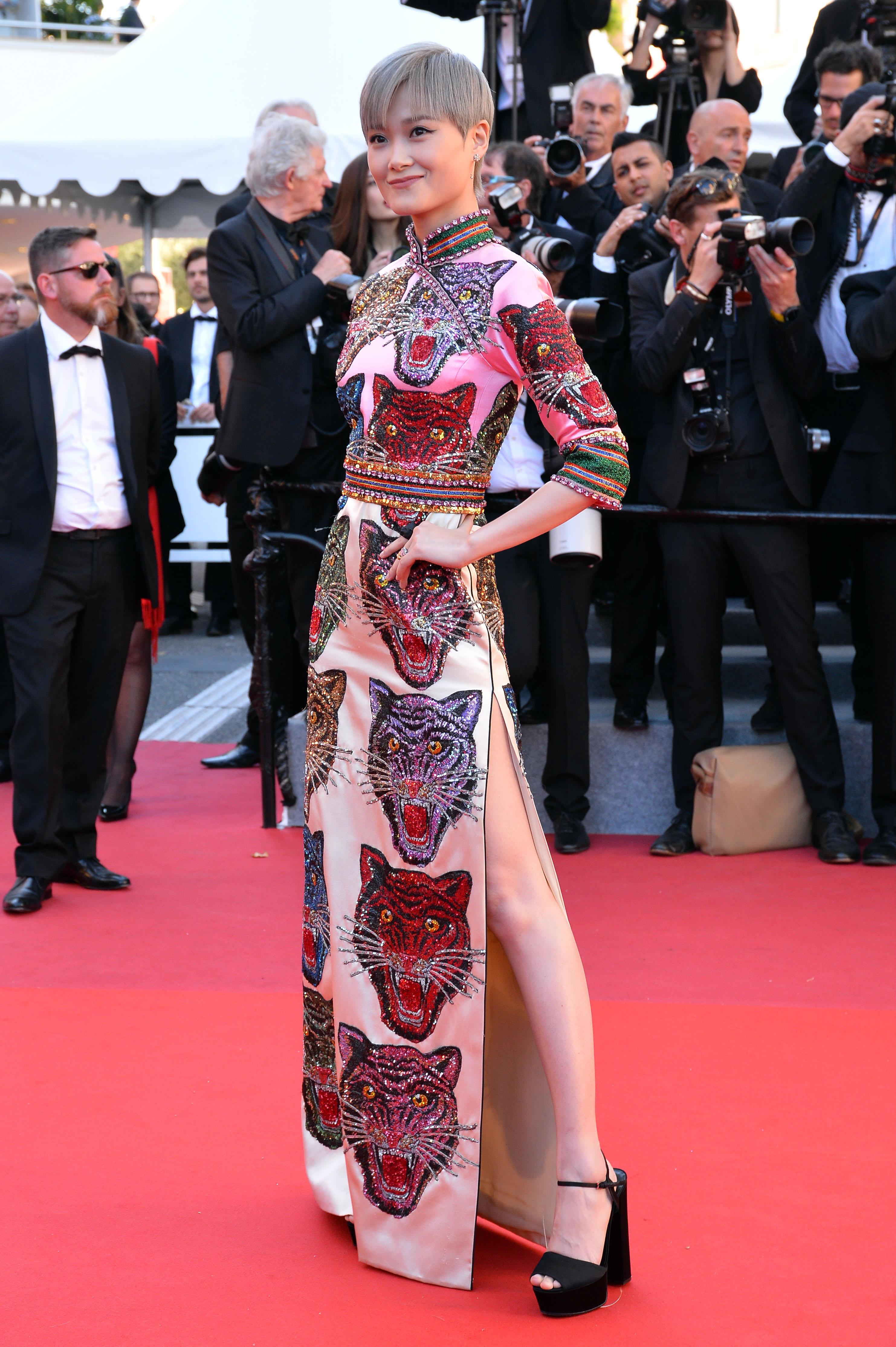 Li YuchunCANNES: OKJA Premiere, Cannes, France - 19 May 2017