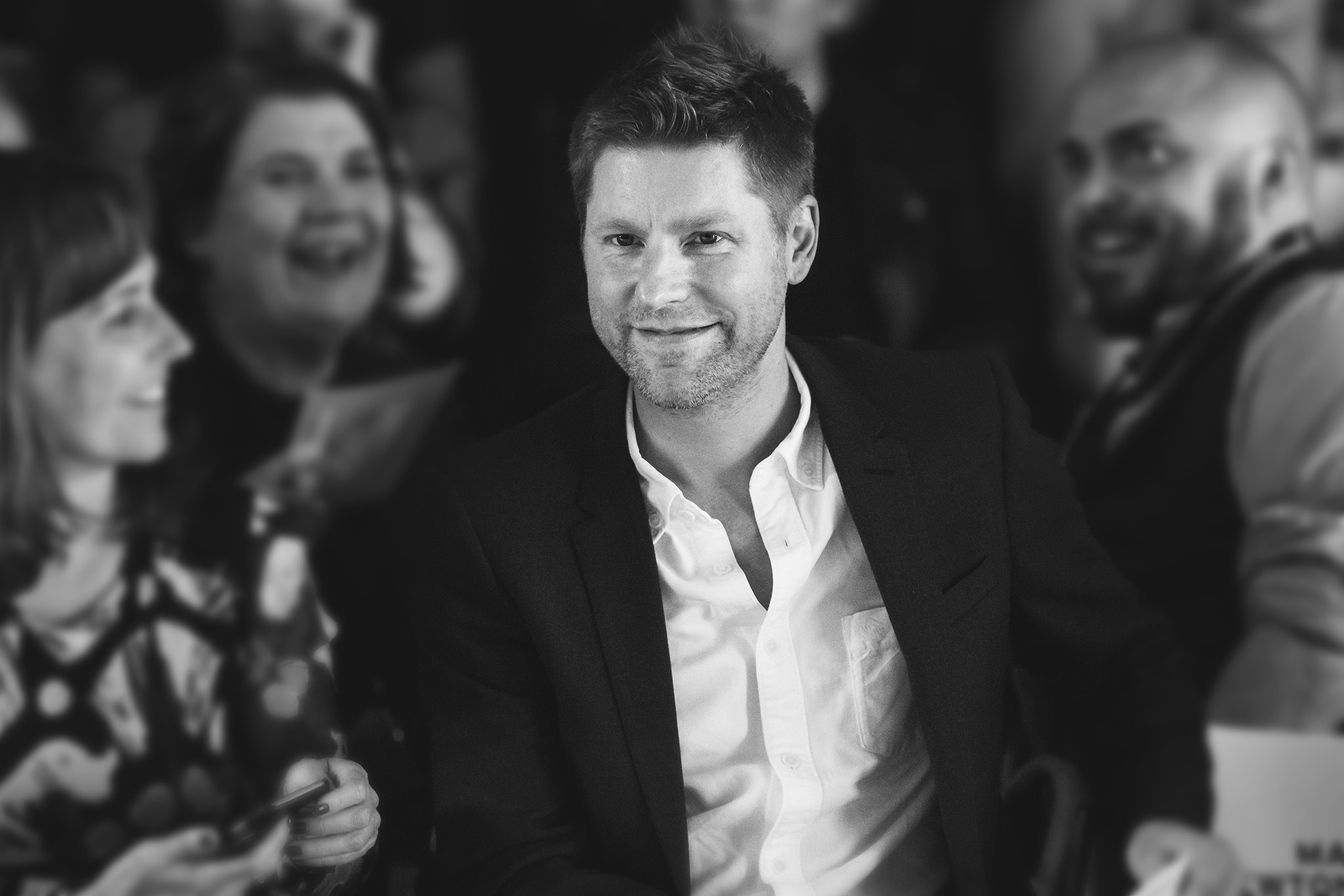 Christopher Bailey and guestStudent Fashion Week, London, Britain - 08 Jun 2016
