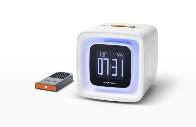 The Sensorwake alarm clock.
