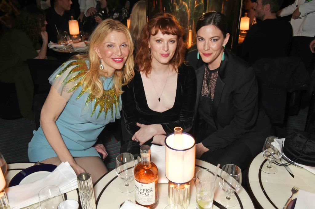 Courtney Love, Karen Elson and Liv Tyler
