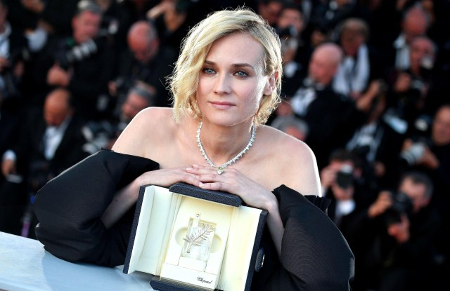 """Diane Kruger winner award best actress """"In the fade"""" 70th Cannes Film Festival"""