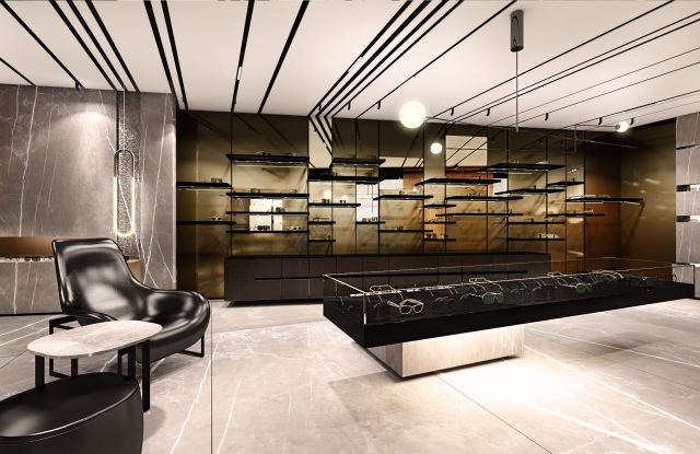 A rendering of the Dita flagship in Aoyama, Tokyo.