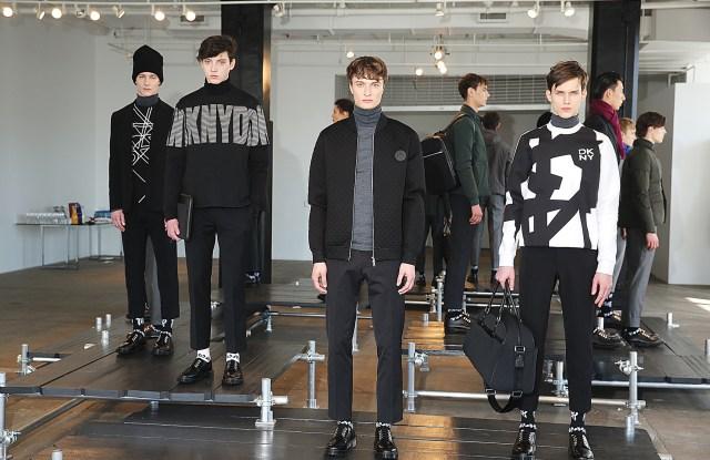 DKNY Menswear Fall 2015