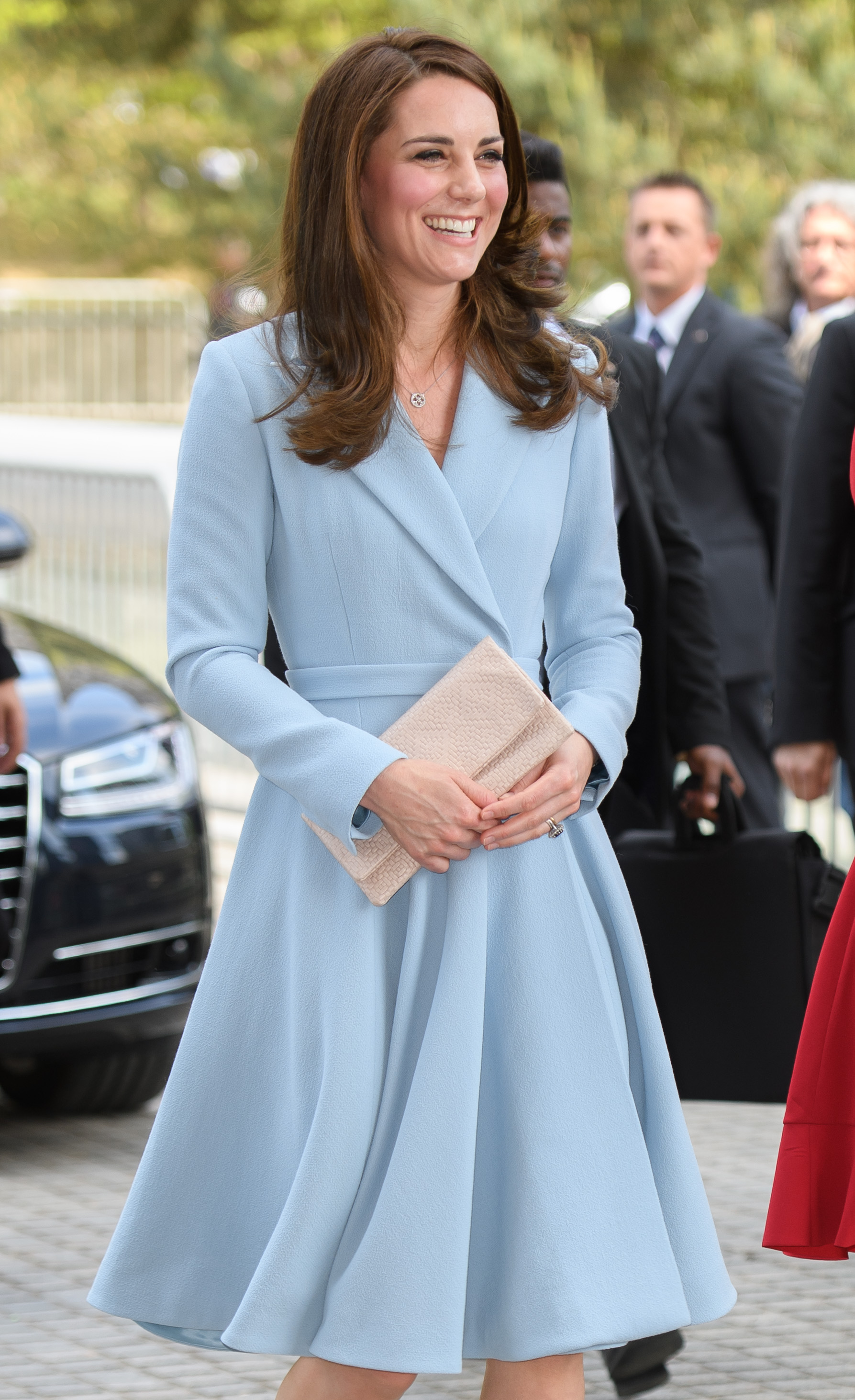 The Duchess of Cambridge in Emilia Wickstead