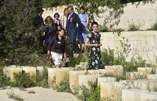The Duchess of Cambridge in Rochas
