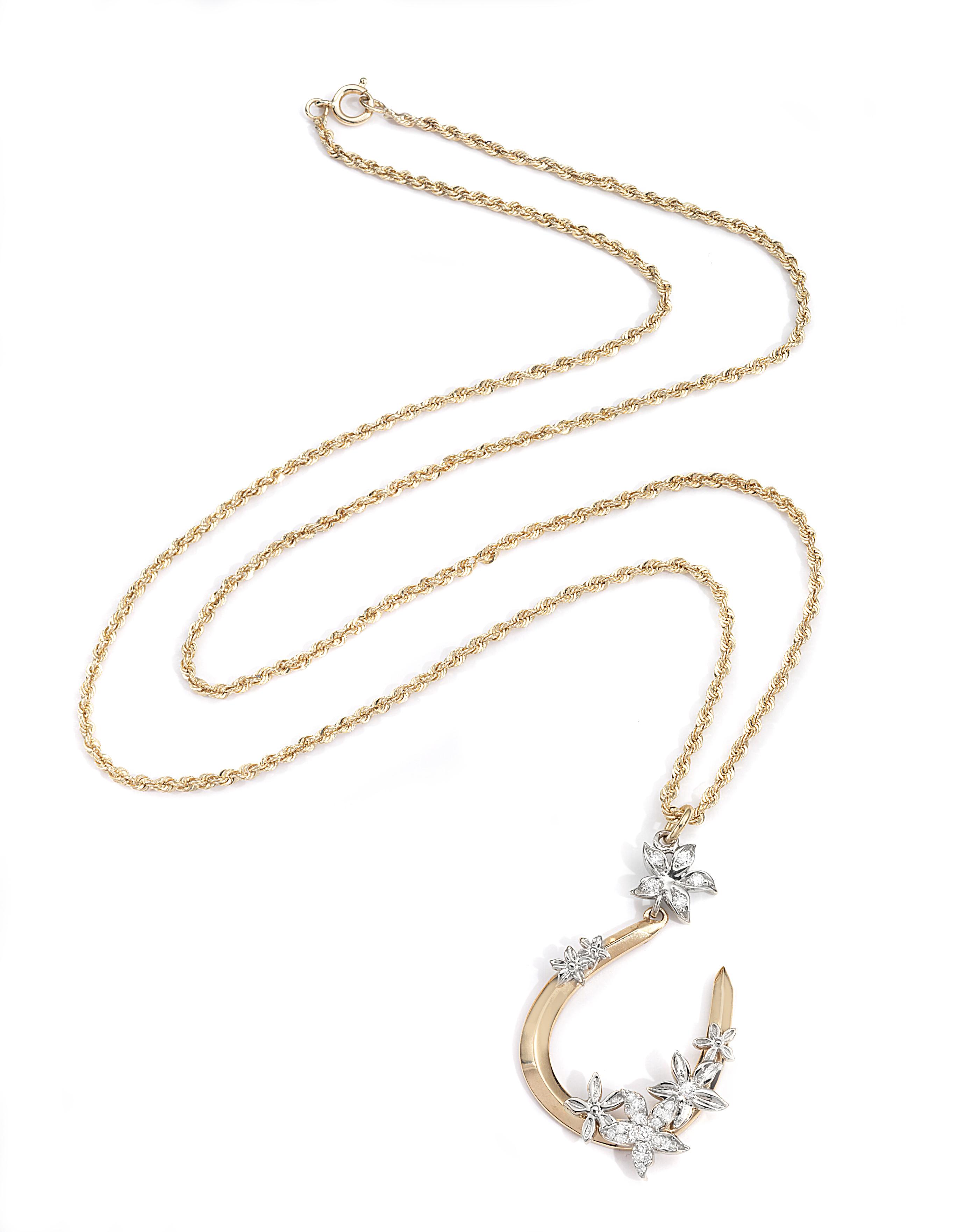 Foundrae Horseshoe necklace